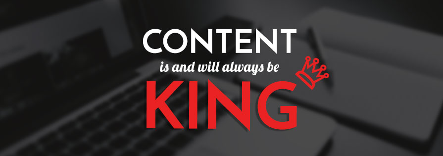 Redkite Blog - Content is and will always be king