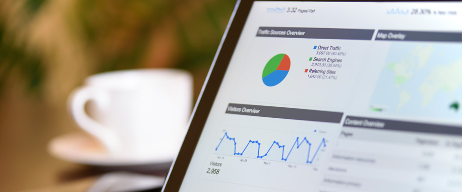 Keeping track of your website's analytics is a must so that you know what areas you need to improve on