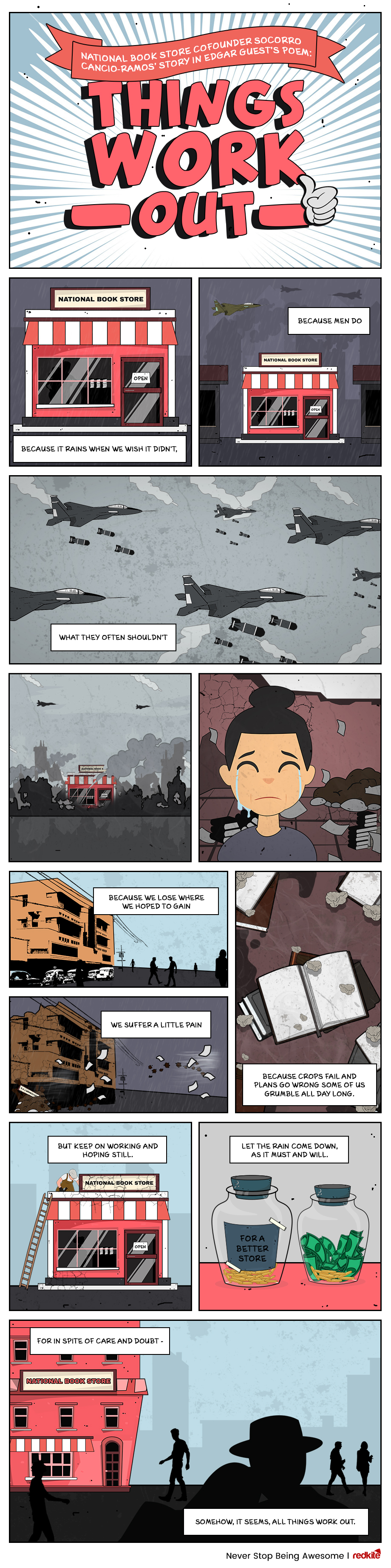 Having a Perseverant Mindset in Business Comics