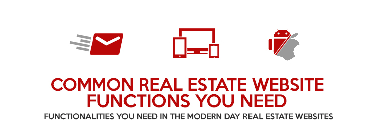 Common Real Estate Website Functions you need