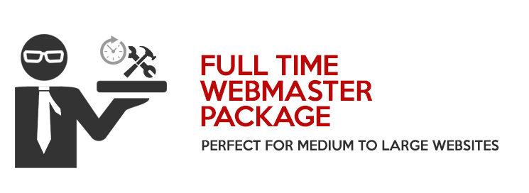 Full Time Webmaster Package – Redkite Philippines