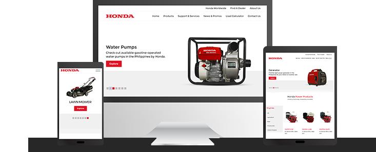Honda Power Products Slider Photo