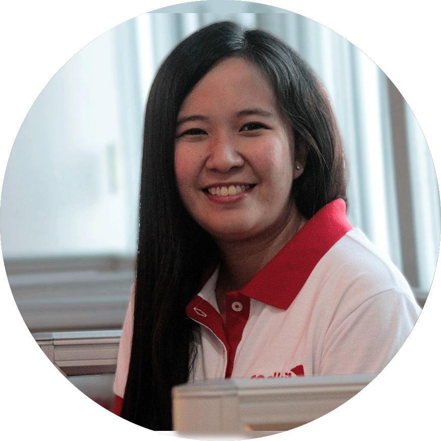Web Content Writer Charmaine – Redkite Philippines