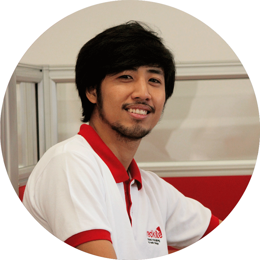 Senior Web Developer Gian – Redkite Philippines