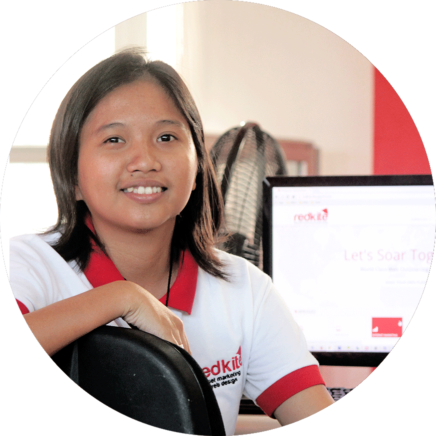 Web Department Head Reine – Redkite Philippines
