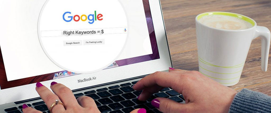 Targeting the right keywords for your website