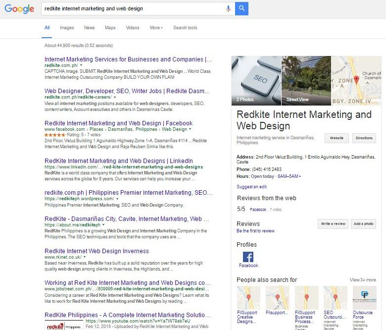 Signing up for Google My Business listings to push Local SEO