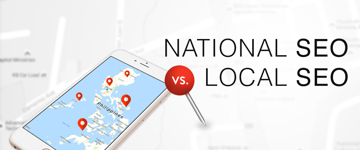 Difference between Local SEO and National SEO