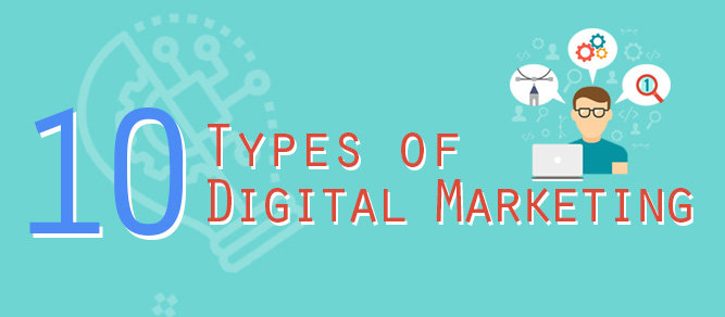 10 Types of Digital Marketing for your Business - Redkite Digital Marketing Philippines