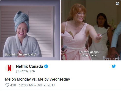 Netflix Funny Tweet - Redkite Digital Marketing